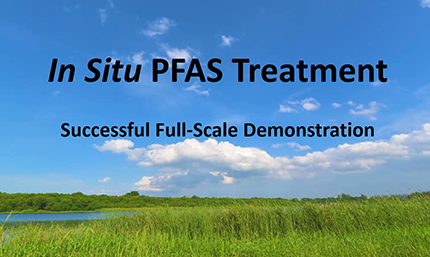 in situ pfas treatment