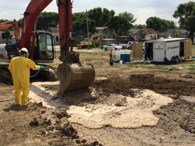 Remediation Soil Mixing