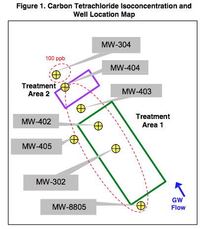 fig-1-location-map-1 DOD Treatability Study Documents Successful Carbon Tetrachloride Remediation using HRC®