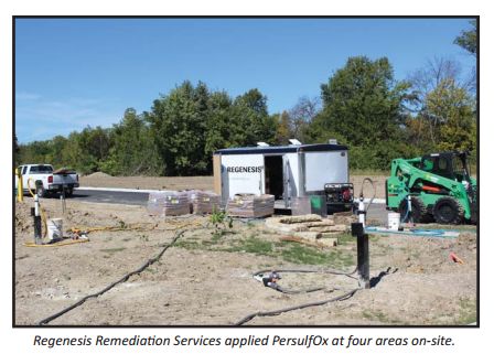 pprrs5 Redeveloped DOD Site Treated with Turn-Key ISCO Remediation