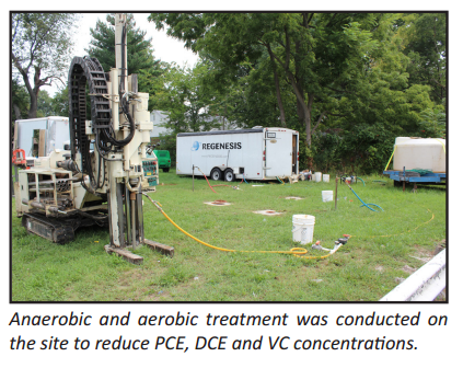 project7 Sequential Anaerobic and Aerobic Treatment of Chlorinated Solvents Achieves MCLs