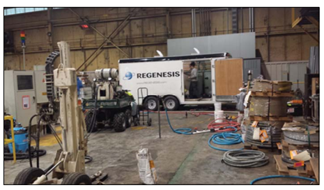 rrspp4 Regenesis Remediation Services™ – TCE Plume Treated with 3-D Microemulsion®