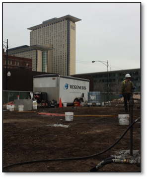 plumestop-case-study PlumeStop<sup>®</sup> Brownfield Site Remediation Reduces cVOCs by up to 97% in 78 Days