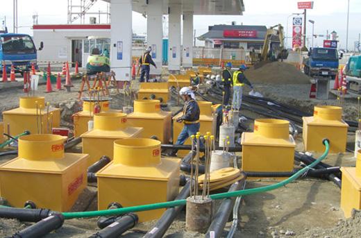 38_tank-farm Remediation of Operational Petrol Station in Veneto, Italy