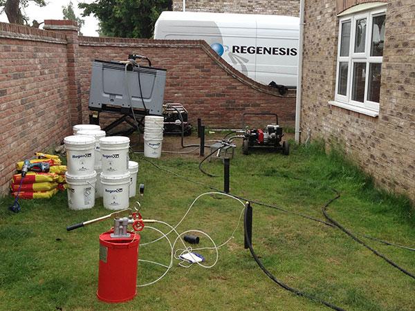 48_OlC45985_1136 Environmental Remediation Beneath Residential Properties, UK
