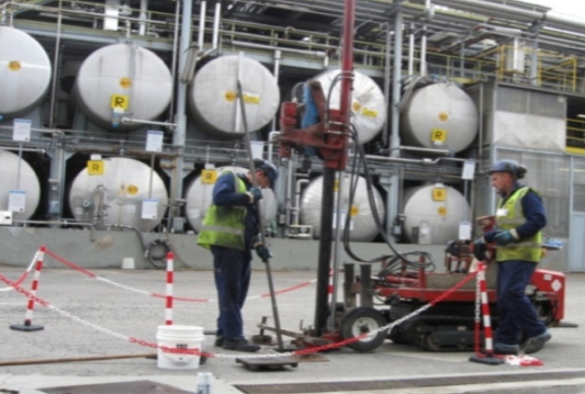 56_KrM39527_site Remediation at Active Pharmaceutical Manufacturing Facility, Italy
