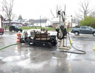 Enhanced Reductive Dechlorination Dry Cleaner site
