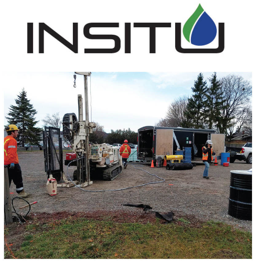 INSITU remediation with PlumeStop in Toronto
