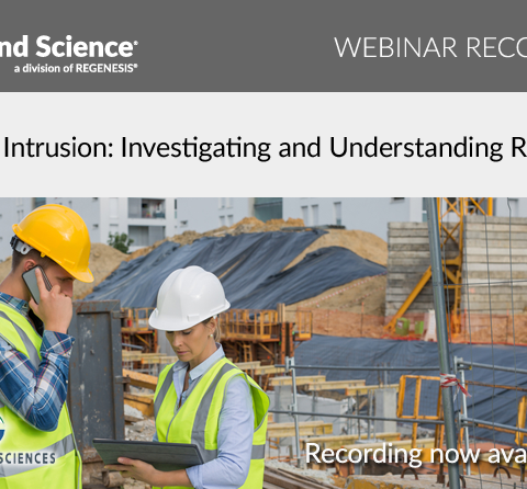 vapor intrusion understanding risk webinar