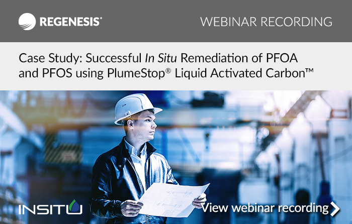PFAS remediation webinar