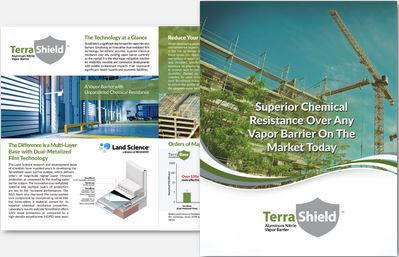 Download Brochure: TerraShield Aluminum Nitrile Vapor Barrier